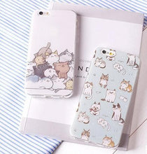 Load image into Gallery viewer, Kawaii Cat Printing Phone Case SP166177