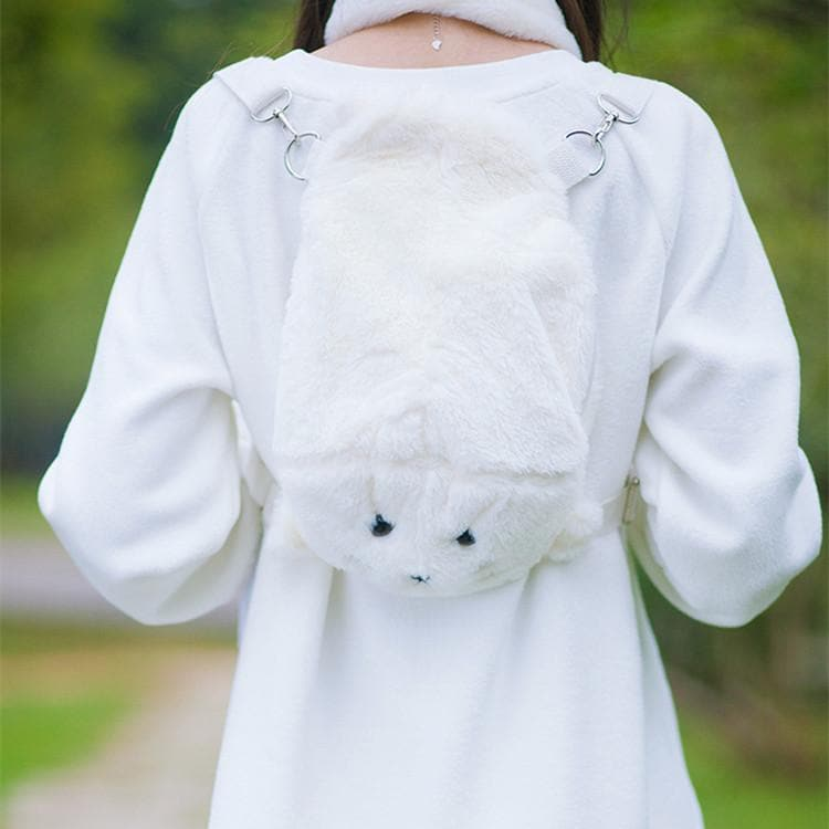 Kawaii Chibi Seal Plush Backpack SP164934 - SpreePicky  - 1