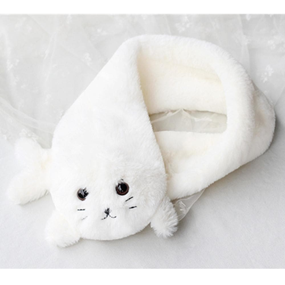Kawaii Chibi Seal Plush Scarf SP164949 - SpreePicky  - 1
