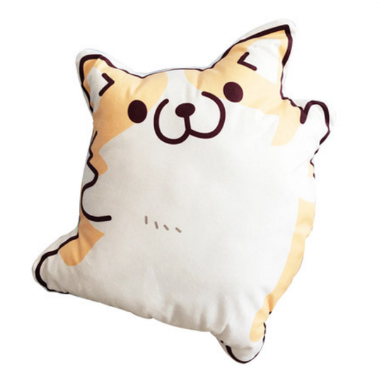 Kawaii Corgi Cartoon Cushion Pillow SP1710100