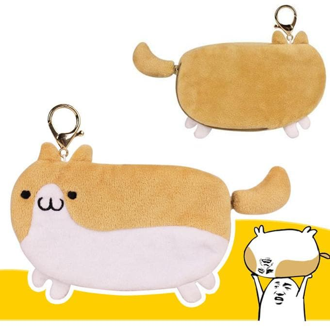 Kawaii Doge Purse Card Bag SP168089 - SpreePicky