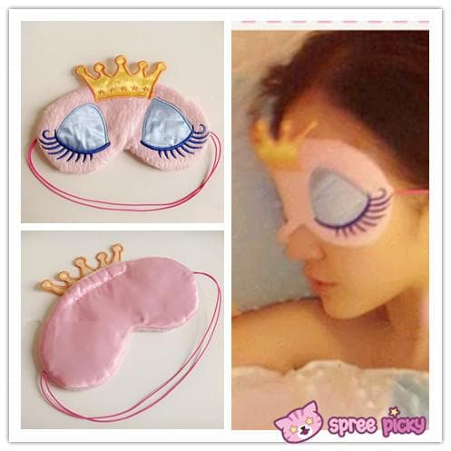 Kawaii Sweet Dreaming Princess with Crown Blinder SP151696 - SpreePicky  - 1