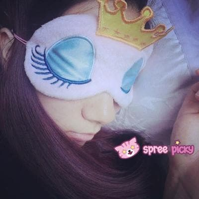 Kawaii Sweet Dreaming Princess with Crown Blinder SP151696 - SpreePicky  - 4