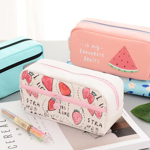 Kawaii Fruity Cosmetic Pouch/Pencil Case SP1710387