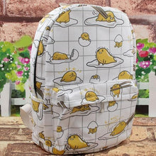 Load image into Gallery viewer, Kawaii Gudetama Canvas Backpack SP1812269