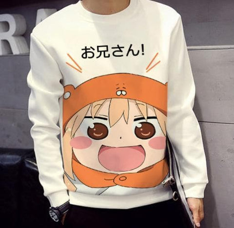 Kawaii Himoto! Umaru-chan Pattern Casual Jumper SP165515