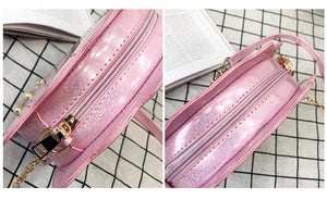 Kawaii Holo Mermaid Sea Shell Cross Body Bag SP1812367
