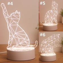 Load image into Gallery viewer, Kawaii Kitty 3D Decoration Lamp SP1812415
