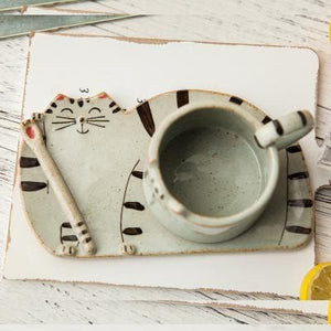 Kawaii Kitty Cat Ceramic Tea/Coffee Mug/Cup SP179154