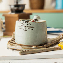 Load image into Gallery viewer, Kawaii Kitty Cat Ceramic Tea/Coffee Mug/Cup SP179154