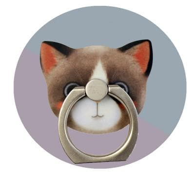 Kawaii Kitty Cat Phone Holder Ring SP166485