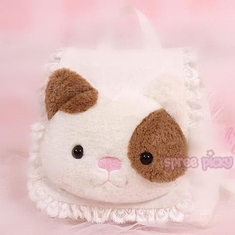 Kawaii Kitty Cat Plush Satchel SP167056