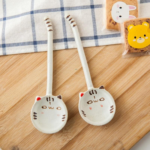 Kawaii Kitty Ceramic Spoon SP179126