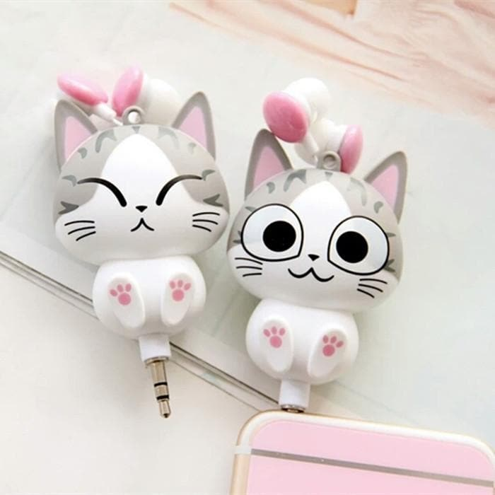 Kawaii Kitty Panda Earbuds SP179296