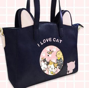 Kawaii Kitty Shoulder Bag/Cross-body Bag SP154531 - SpreePicky  - 4
