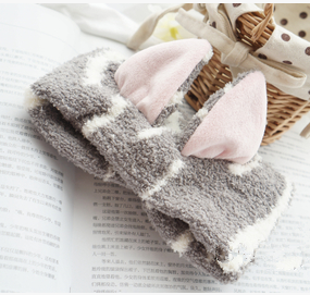 Kawaii Neko Cat Ear Fleece Hair Band For Make Up SP164904 - SpreePicky  - 6