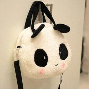 Kawaii Panda Plush Handbag Shoulder Bag SP168431