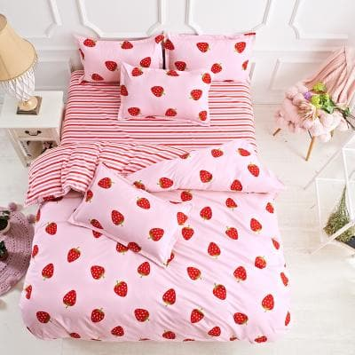 Kawaii Pastel Paws Bedding Sheet Set SP1710399