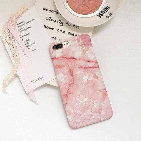 Kawaii Pink Marble Phone Case SP1812091