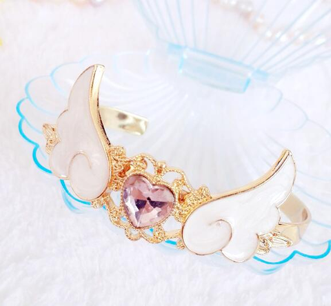 Kawaii Princess Angel Wings Bracelet SP179024