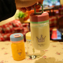 Load image into Gallery viewer, Kawaii Printing Glass Water Bottle SP1710147
