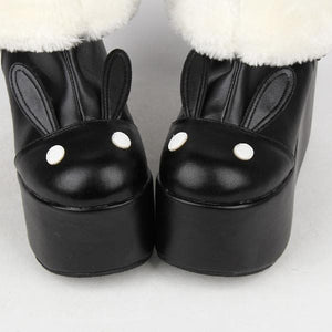 Kawaii Rabbit Ear Lolita Short Boots SP164970 - SpreePicky  - 6