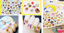 Load image into Gallery viewer, Kawaii Sailor Moon Pattern Nail Sticker SP165274 - SpreePicky FreeShipping