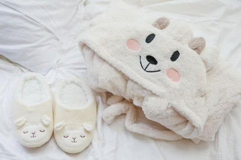 Kawaii Sheep Fleece Hoodie Pajamas Coat SP164912 - SpreePicky  - 3