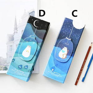 Kawaii Stary Night Multifunction Pencil Case SP1710340