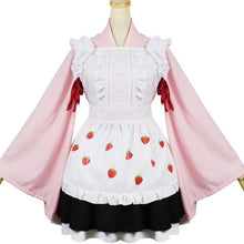 Load image into Gallery viewer, Kawaii Strawberry Maid Cosplay Costume SP1812581