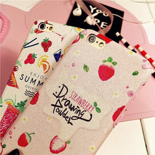 Load image into Gallery viewer, Kawaii Strawberry Pattern Phone Case SP165688