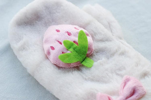 Kawaii Strawberry Plush Gloevs SP164933 - SpreePicky  - 4