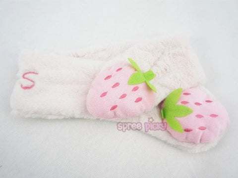 Kawaii Strawberry Plush Scarf SP164932