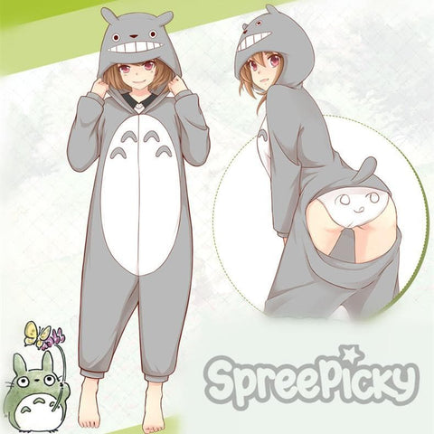 Kawaii Totoro One-piece Homewear Pajamas SP178683