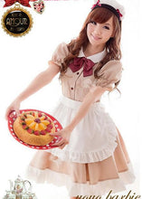 Load image into Gallery viewer, Khaki Coffee Cafe Maid Dress SP141205 - SpreePicky  - 3