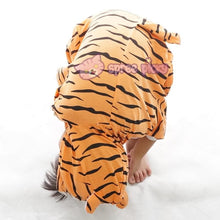 Load image into Gallery viewer, Kids Tiger Animal Summer Onesies Kigurumi Jumpersuit Nightwear Pajamas SP152059 - SpreePicky  - 5