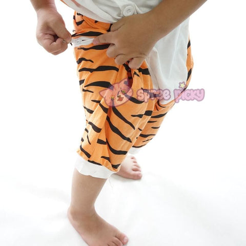 Kids Tiger Animal Summer Onesies Kigurumi Jumpersuit Nightwear Pajamas SP152059 - SpreePicky  - 6