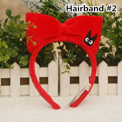 Kiki's Delivery Service JiJi KiKi Plush Hairband Hair Ring SP167941