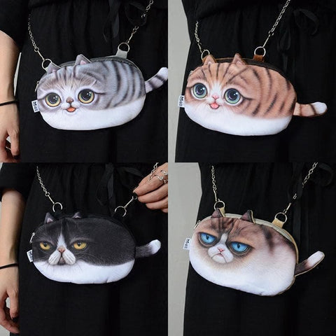 Kitty Chain Crossbody Bag SP179148