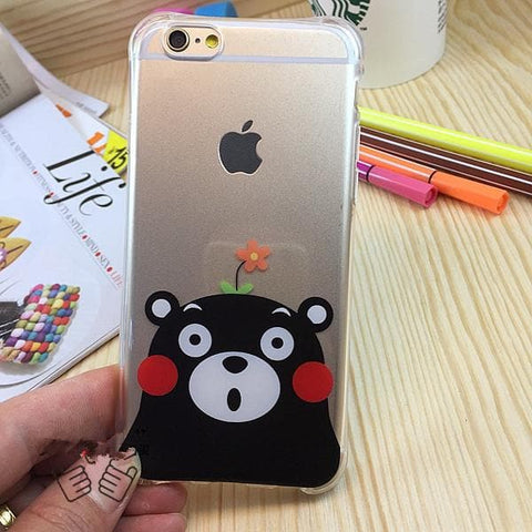 Kumamon Clear Phone Case SP166300