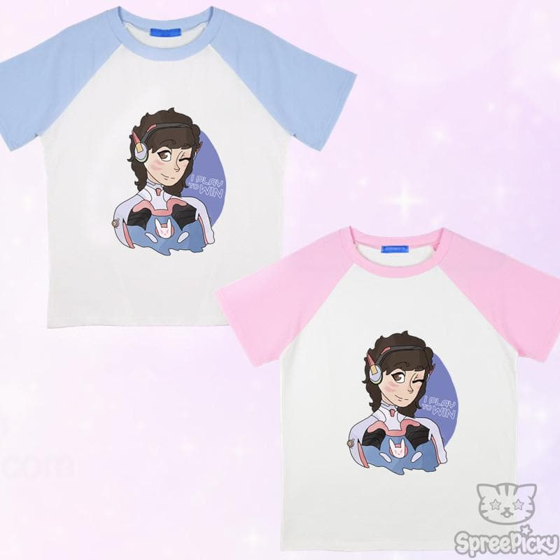[Kumoru Design] Overwatch DVA Tee Shirt SP168110