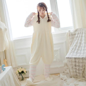 Kawaii Cat Paw Homewear Pajamas SP168301
