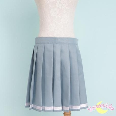 [境界の彼方] Kyokai no Kanata Kuriyama Mirai Sailor School Uniform Top and Skirt Set SP151634 - SpreePicky  - 9