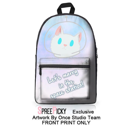 Let's Marry In The Space Station Backpack SP179191