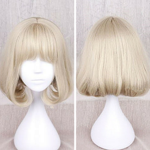 Load image into Gallery viewer, Light Khaki Lolita BOBO Short Hair Wig SP166830