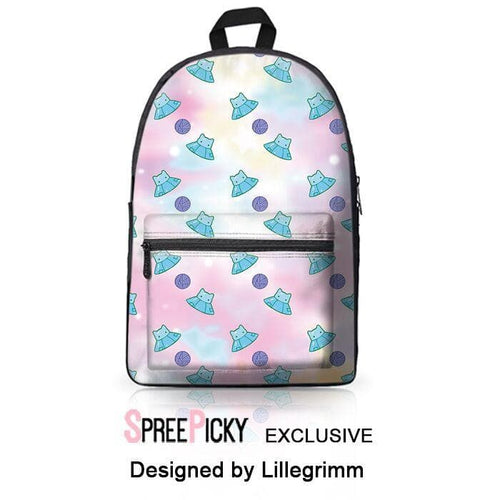 [Lillegrimm Design] Unidentified Purring Objects Backpack SP179141
