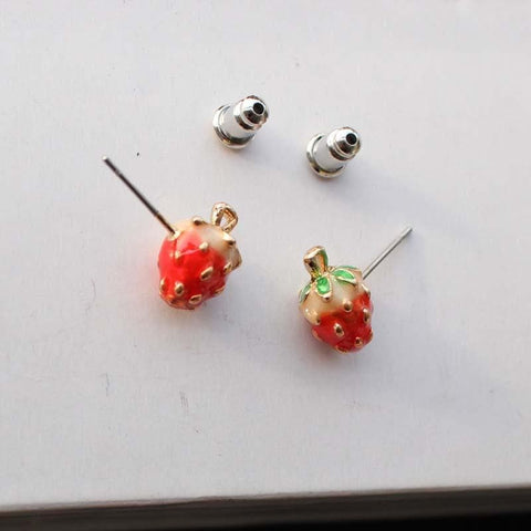 Little Strawberry Necklace/hairpin SP152540 - SpreePicky  - 3