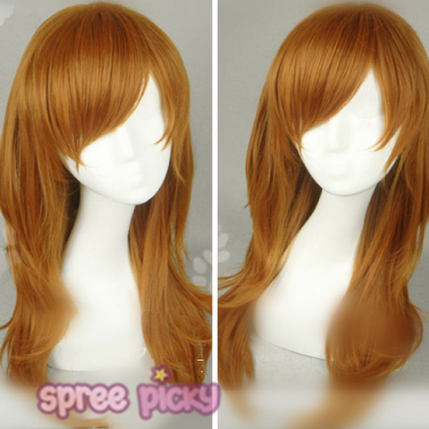 Lolita Brown Long Hair Wig SP167260