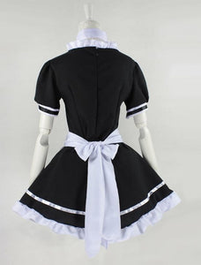 Lolita Cosplay BlacK Maid Dress With Apron  SP141076 - SpreePicky  - 7