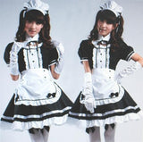 Lolita Cosplay BlacK Maid Dress With Apron  SP141076 - SpreePicky  - 3